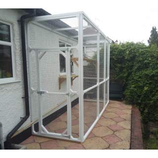 Cat Enclosures Runs and Catios Made to Measure Attached to Houses