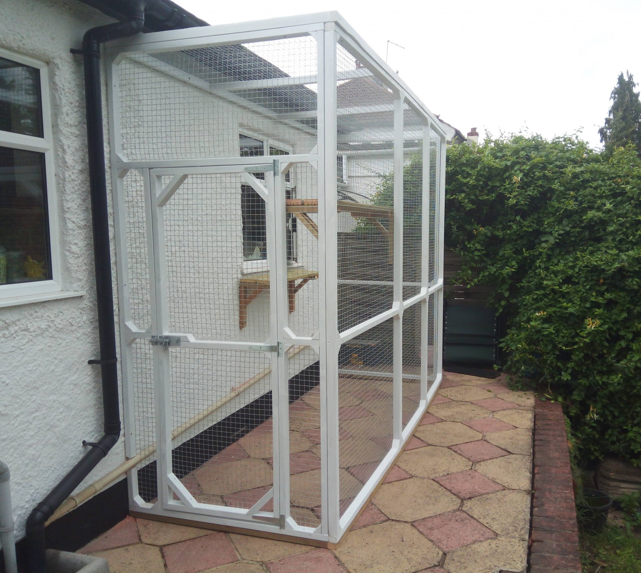 Cat Enclosures Runs And Catios Made To Measure Attached Houses Garden For Outdoor Use